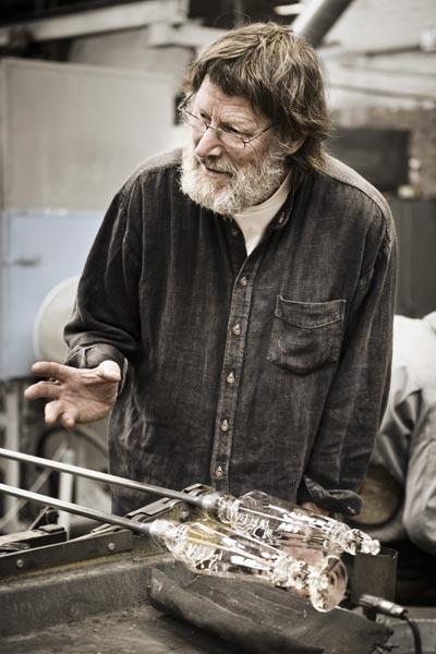 Göran Wärff in action