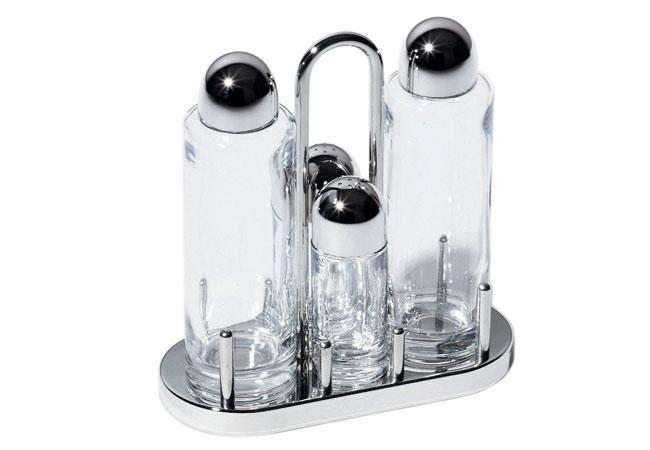 Ölbehälter und Öl-/Essig-Menagen