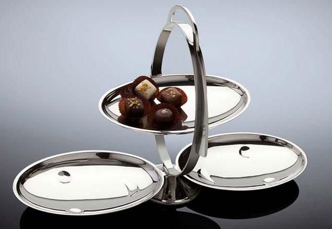 Alessi Schalen, Körbe, Platten, Tabletts, Eierbecher, Kaffee- und Teezubehör