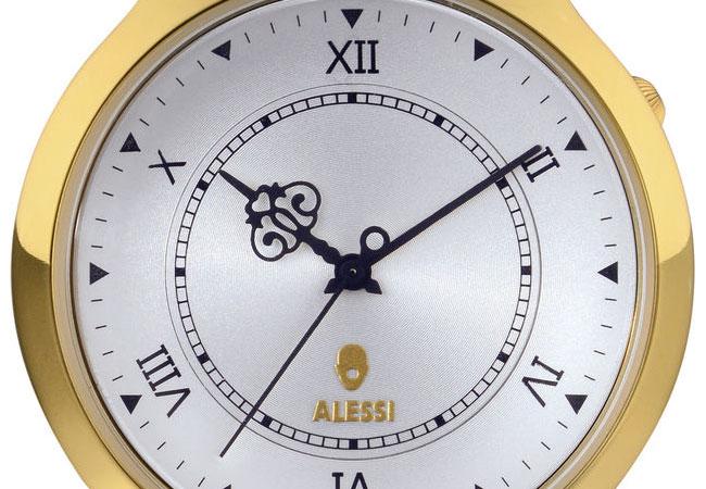 Alessi Tisch-, Wand- und Armbanduhren