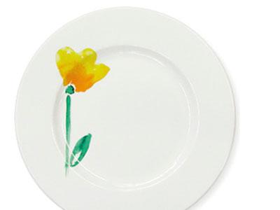 Dibbern Impression Blume gelb