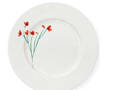 Dibbern Impression Blume rot