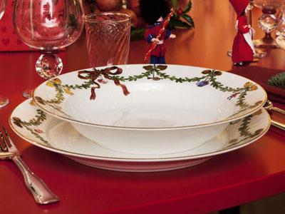 Royal Copenhagen Star Fluted Christmas