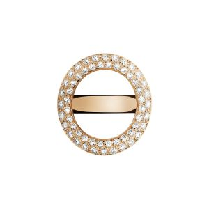 Christofle Idole de Christofle - Brückenring, Roségold mit Diamanten