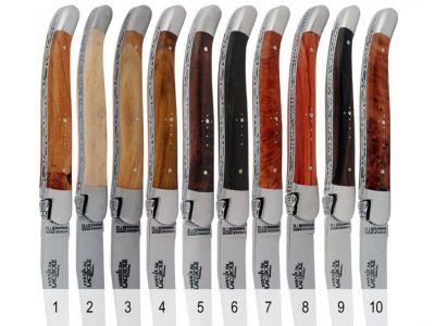 Forge de Laguiole Steakbesteck - Edelholz - Inox - satiniert