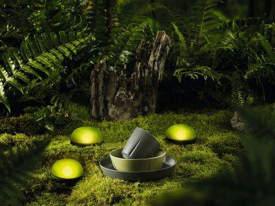 Rosendahl - Soft Spot LED-Leuchte Ø 9 cm, olivgrün