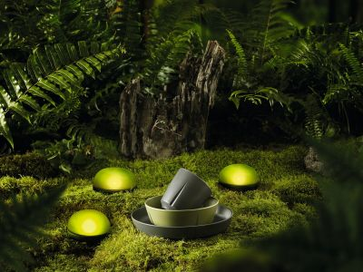 Rosendahl - Soft Spot LED-Leuchte Ø 11 cm, olivgrün