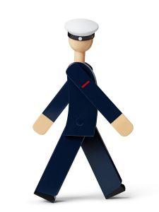 Kay Bojesen - Marinesoldat, blau/weiß