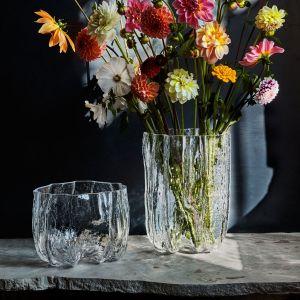 Kosta Boda Crackle - Vase 17 cm