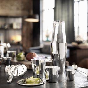 Robbe & Berking - Belvedere Cocktailshaker mit Glas, versilbert