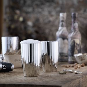 Robbe & Berking - Belvedere Bier- und Longdrinkbecher, versilbert