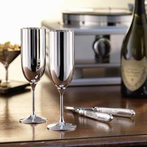 Robbe & Berking - Belvedere Champagnerkelch, versilbert