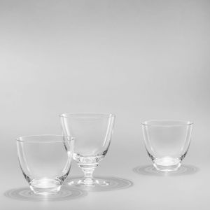 Holmegaard - Flow Wasserglas 35 cl, klar