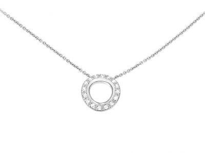Christofle Idole de Christofle - Halskette Weißgold & Diamanten