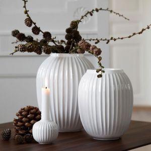 Kähler Design - Hammershøi Vase - Weiß, H 25 cm