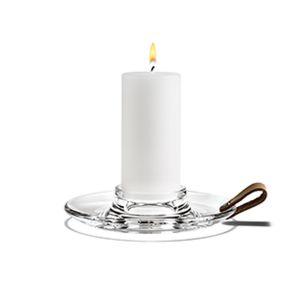 Holmegaard - Design with Light - Blockkerzenhalter, klar, 17 cm