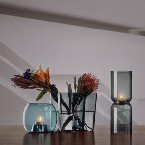 iittala Lantern Teelichthalter dark grey 25 cm