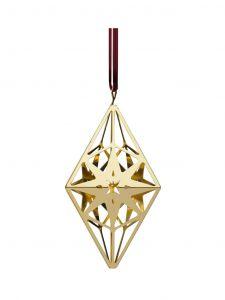 Rosendahl - Rhombushänger, vergoldet