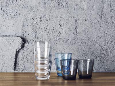iittala - Kartio 2er Set Trinkglas 40 cl, dunkelgrau