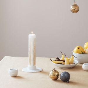 Lyngby Porcelæn - Rhombe Kalenderkerze, glänzend