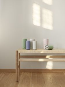 Stelton To Go Click - Isolierbecher 0,2 Liter, soft seagrass