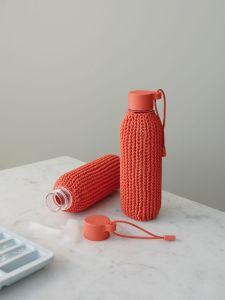 RIG-TIG - CATCH-IT Trinkflasche, 0,6 Liter, warm red