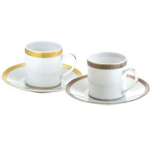Christofle Malmaison - Espressotasse mit Untertasse
