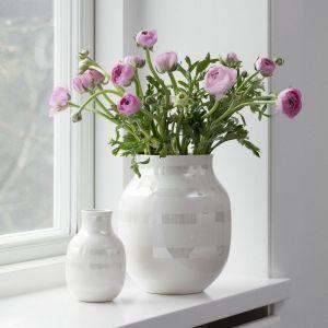 Kähler Design - Omaggio Vase - Pearl, H 20 cm