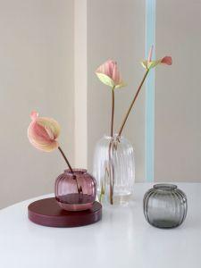 Holmegaard - Primula Vase, pflaume