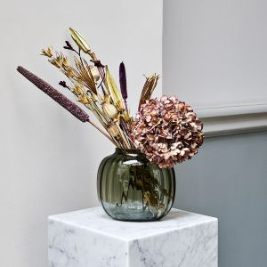 Holmegaard - Primula Vase smoke, 17,5 cm