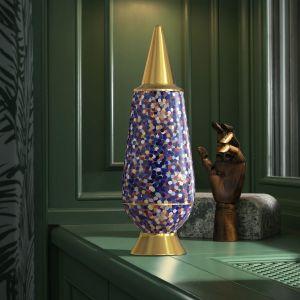 Alessi - 100 % MAKE-UP Proust Vase mit Deckel