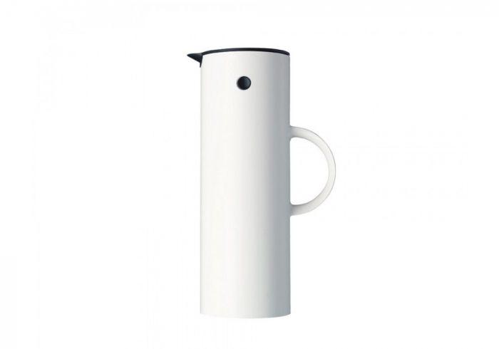 Stelton EM77 Isolierkanne, 1 Liter, weiß
