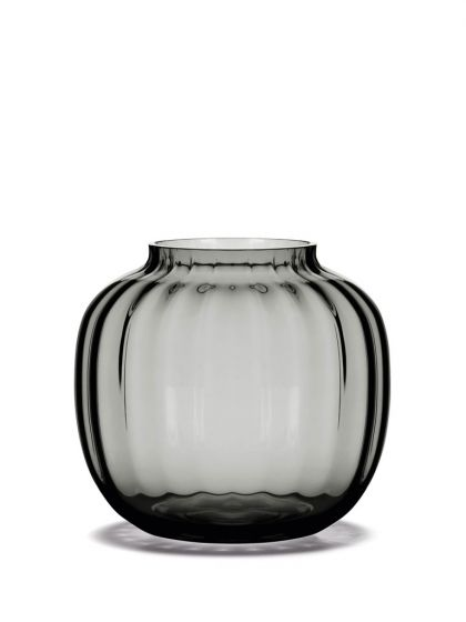 Holmegaard - Primula Vase, smoke