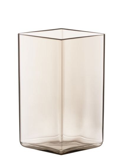 iittala Ruutu - Vase 11,5 cm x 14 cm, leinen