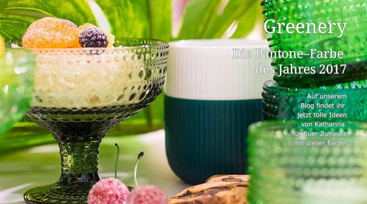 Greenery - die Pantone-Farbe des Jahres 2017